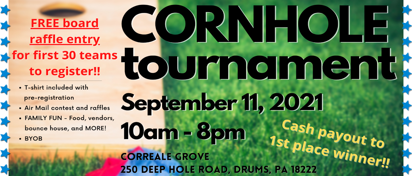 cornhole fundraiser